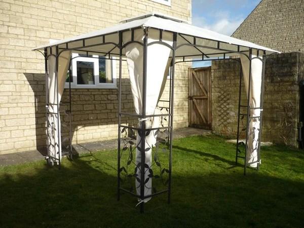 Side Panel Set for 3m x 3m Patio Gazebo 262cm Curtain