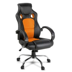 Orange Office Chair Kids Table And Chairs Toys R Us All Products Just Fonsi Leather Racing