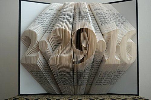 Folded Book Art Unique Handmade Gift Boston Creative Company