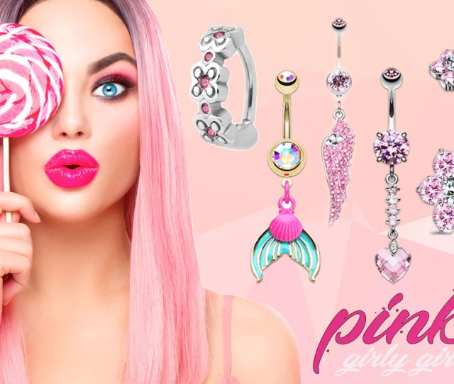 Shop Online For Pink Body Jewellery Here