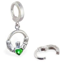 925 Silver Belly Rings. High End Designer Belly Button ...