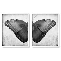 Dark Butterfly Diptych Wall Art Printables  Chaos ...