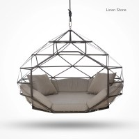 Hanging Dome Chair. Amazing Swingasan Mocha Hanging Chair