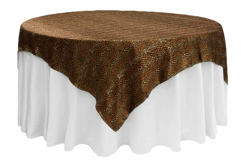 chair cover rentals dc bar stool ikea satin table overlay leopard the cinderella house covers