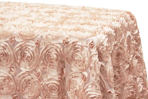chair covers rose gold teal leather satin rosette rectangular table linens blush the