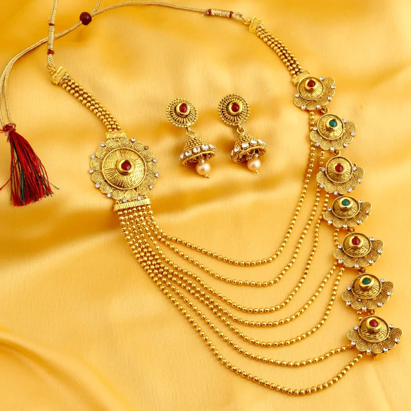 Most Popular Jewelry: Gold Plated Jewellery Design