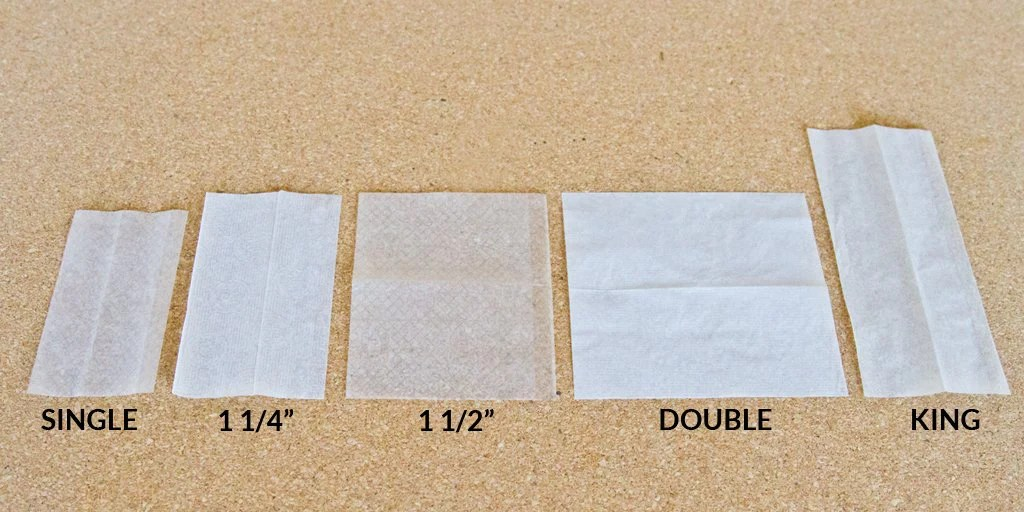 All rolling paper sizes also the size guide  key to cannabis rh keytocannabis