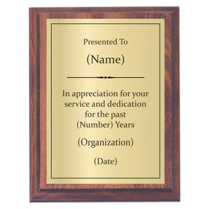 plaques with sayings awards2you