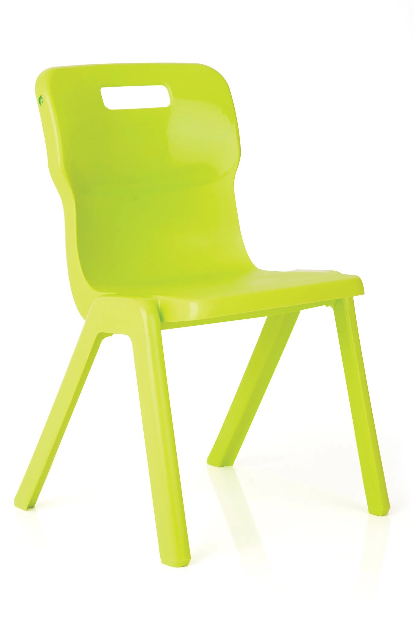 Lime Green Chairs Titan One Piece Chair