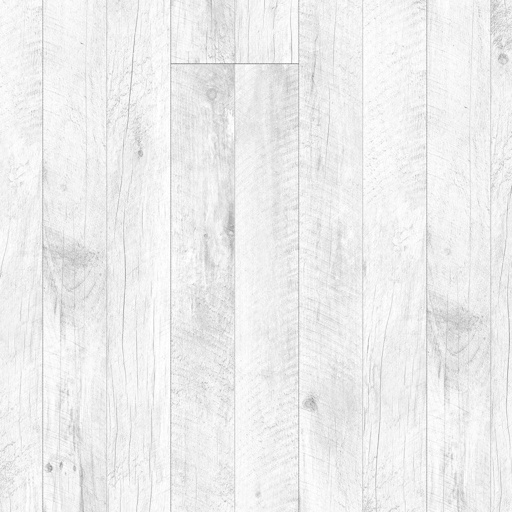 Barn Wood White Wallpaper  WYNIL by NumrArt