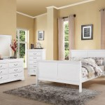 Acme Louis Philippe Iii Twin Bed White 24515t Hipbeds Com