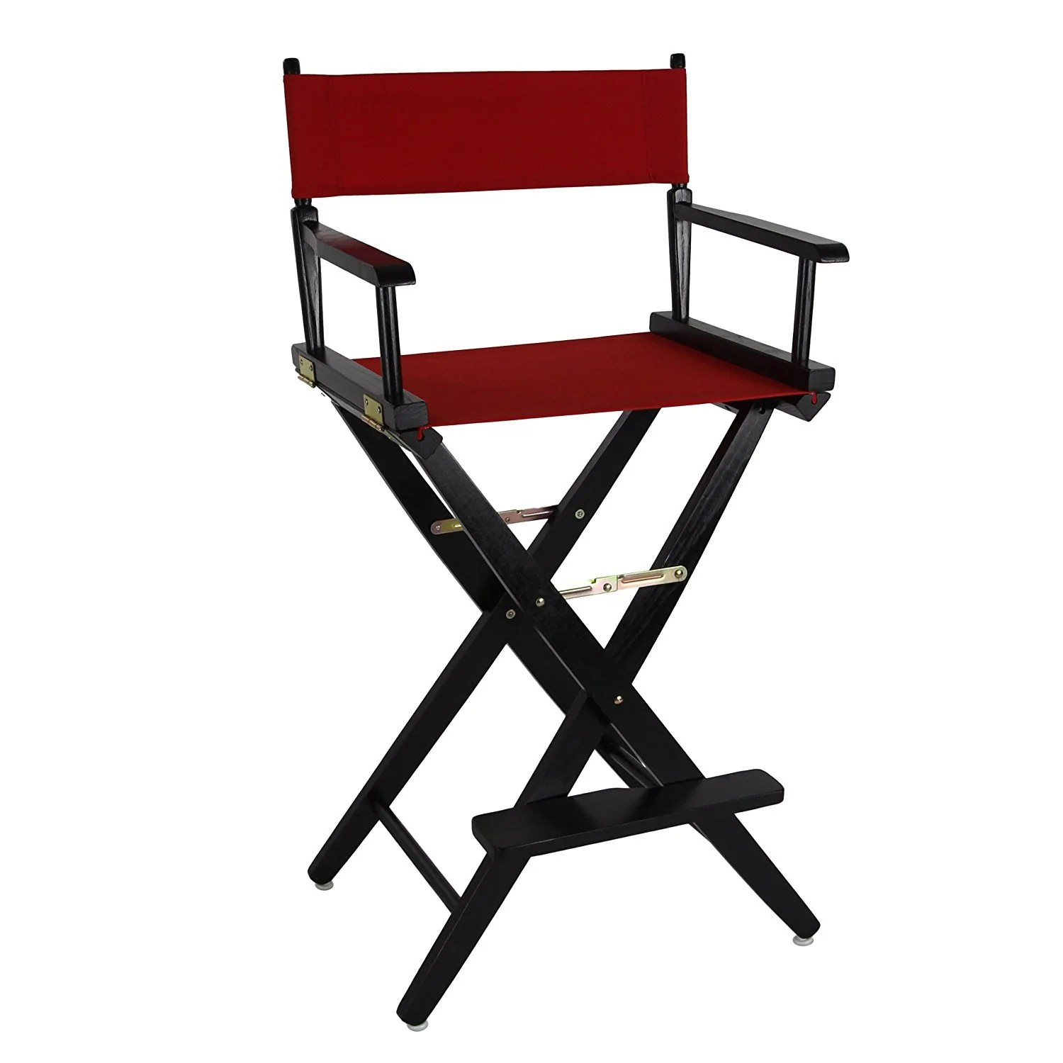 Black Directors Chair American Trails Extra Wide Premium 30