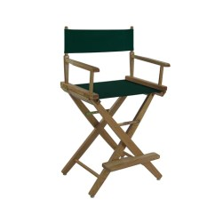 Directors Chair Covers Big W Barrel Chairs Swivel Casters American Trails Extra Wide Premium 18 Mission Oak 24 Frame Hunter Green Color Cover 206 032 32