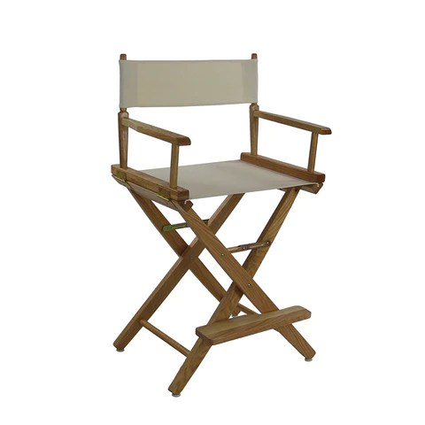 directors chair covers big w crate and barrel desk american trails extra wide premium 24 natural frame mission oak color cover 206 032 12