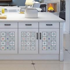 Art For Kitchen Used Appliances Sale Portugal Vintage Tiles Stickers Set Of 16 Tile Decals Royalwallskins