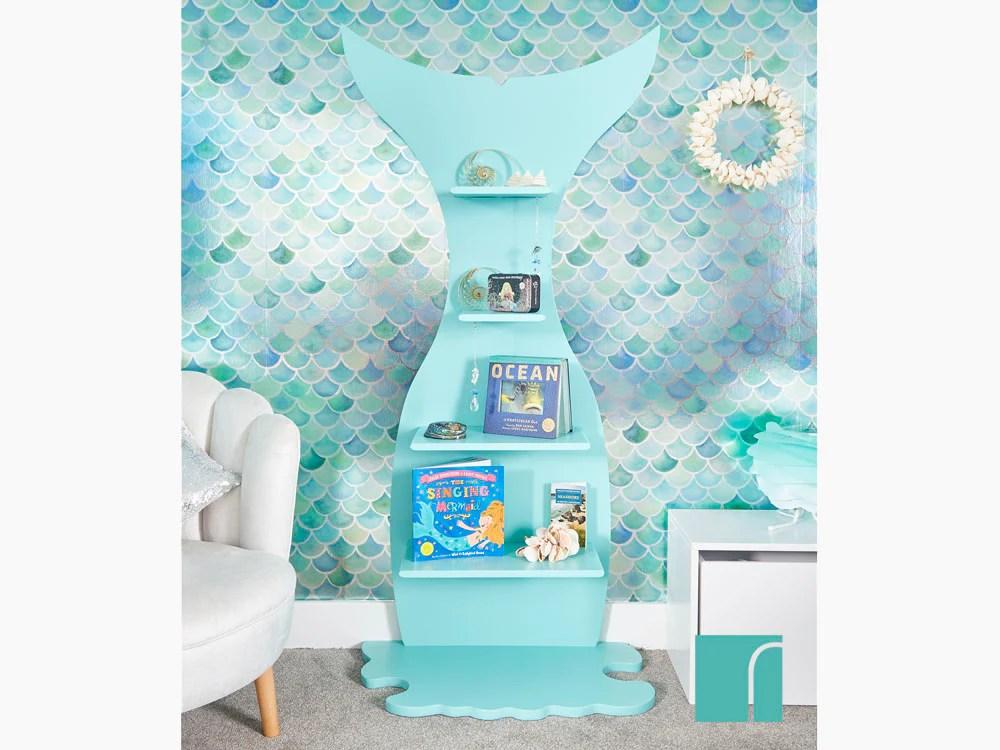 Girls Pink Bedroom Wallpaper Mermazing Mermaid Wallpaper Mermazing Mermaid Bedroom