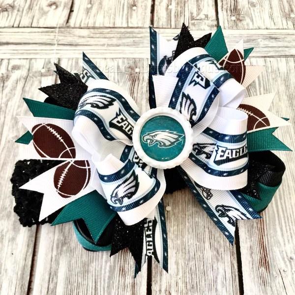 eagles baby headband philadelphia