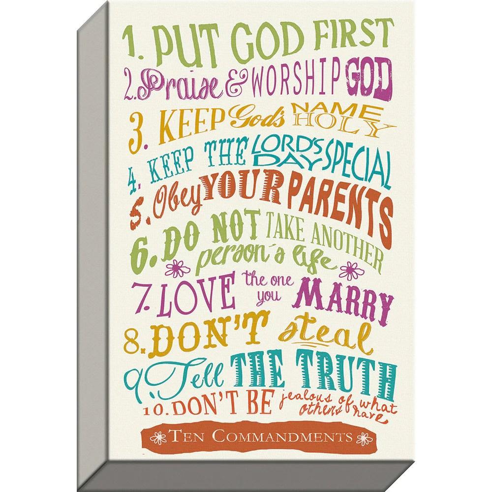 10 commandments gicl e