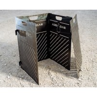 """Medium Pyro Cage Incinerator Fire Pit 32""""  Pyro Products"""
