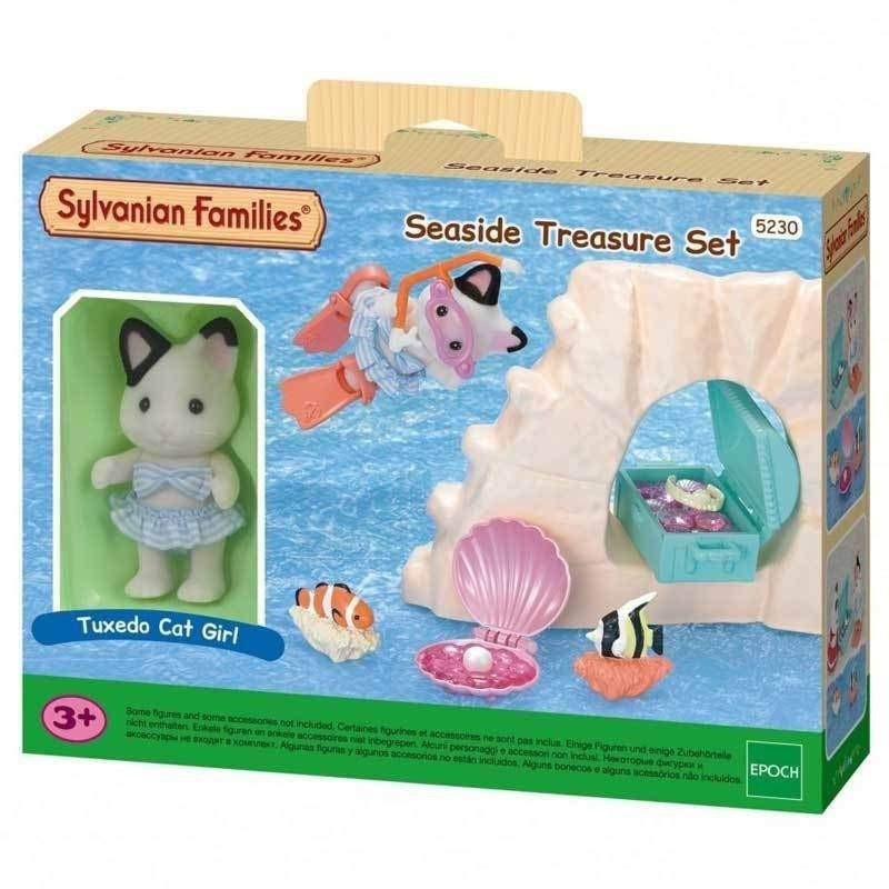 sylvanian families seaside treasure