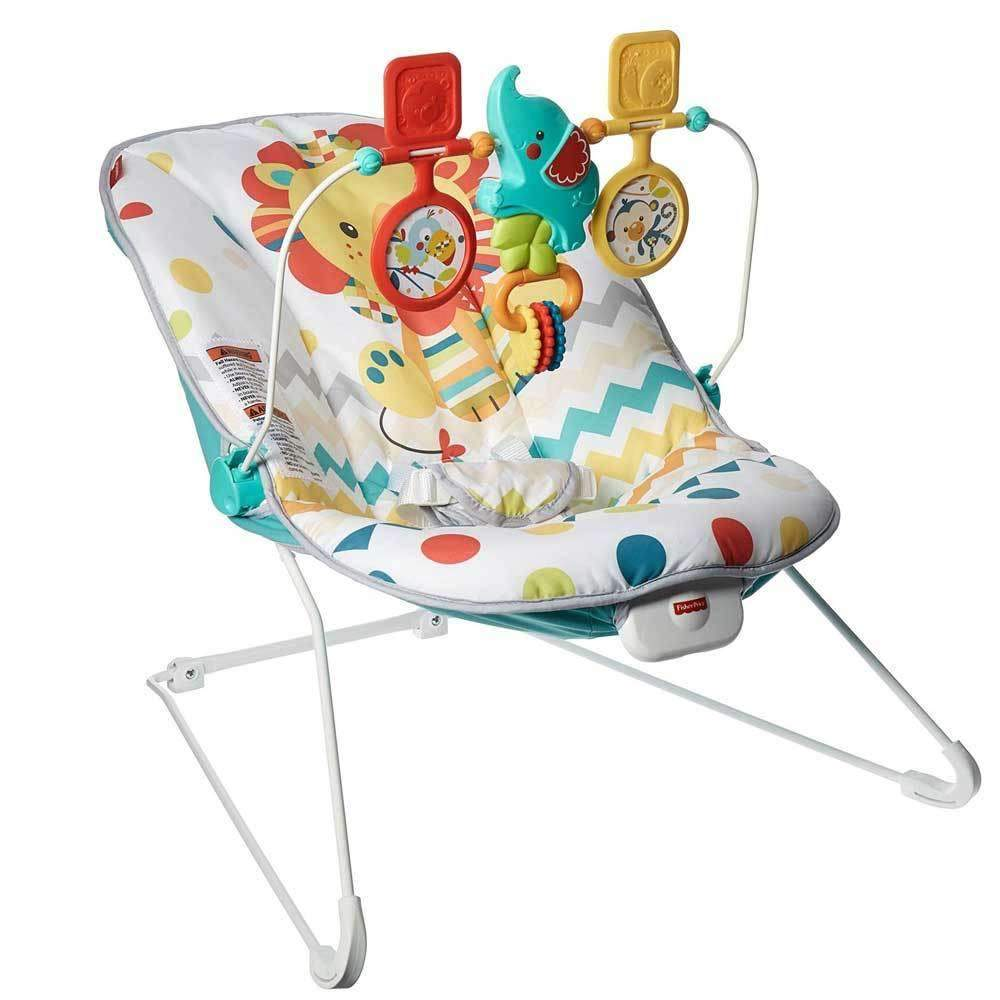 Fisher Price Baby Chair Fisher Price Colourful Carnival Basic Bouncer
