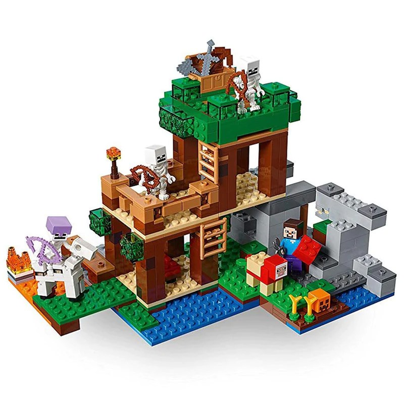 Buy Lego Minecraft The Skeleton Attack 21146 Online At