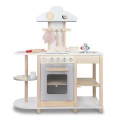 Wooden Kids Kitchen Grey Tiles For Floor Buy In White Online At Toy Universe Australia Fun Stuff Toys