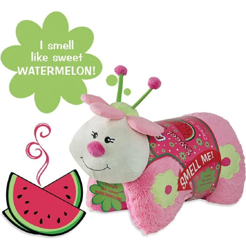 pillow pets sweet scented pets watermelon ladybug
