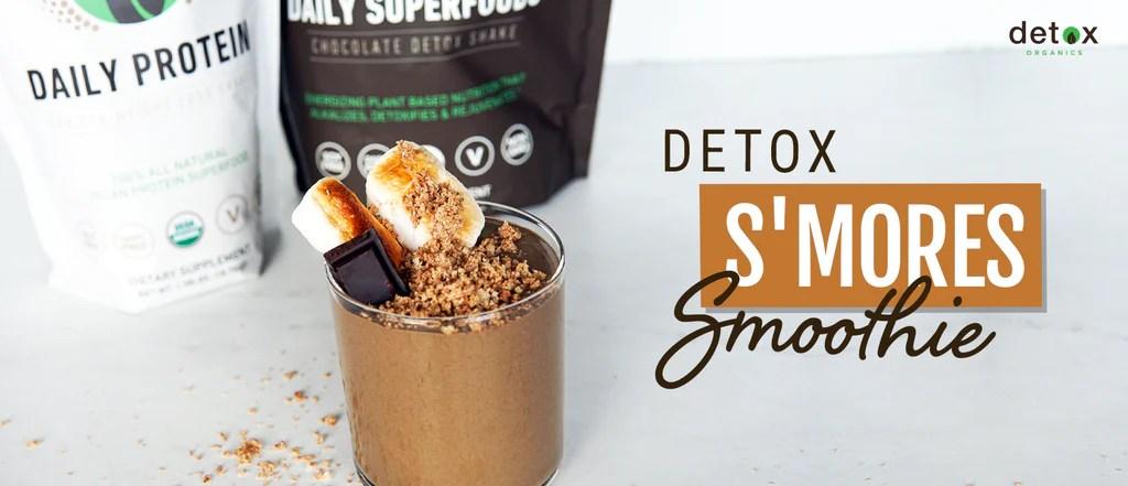 healthy smores smoothies detox organic