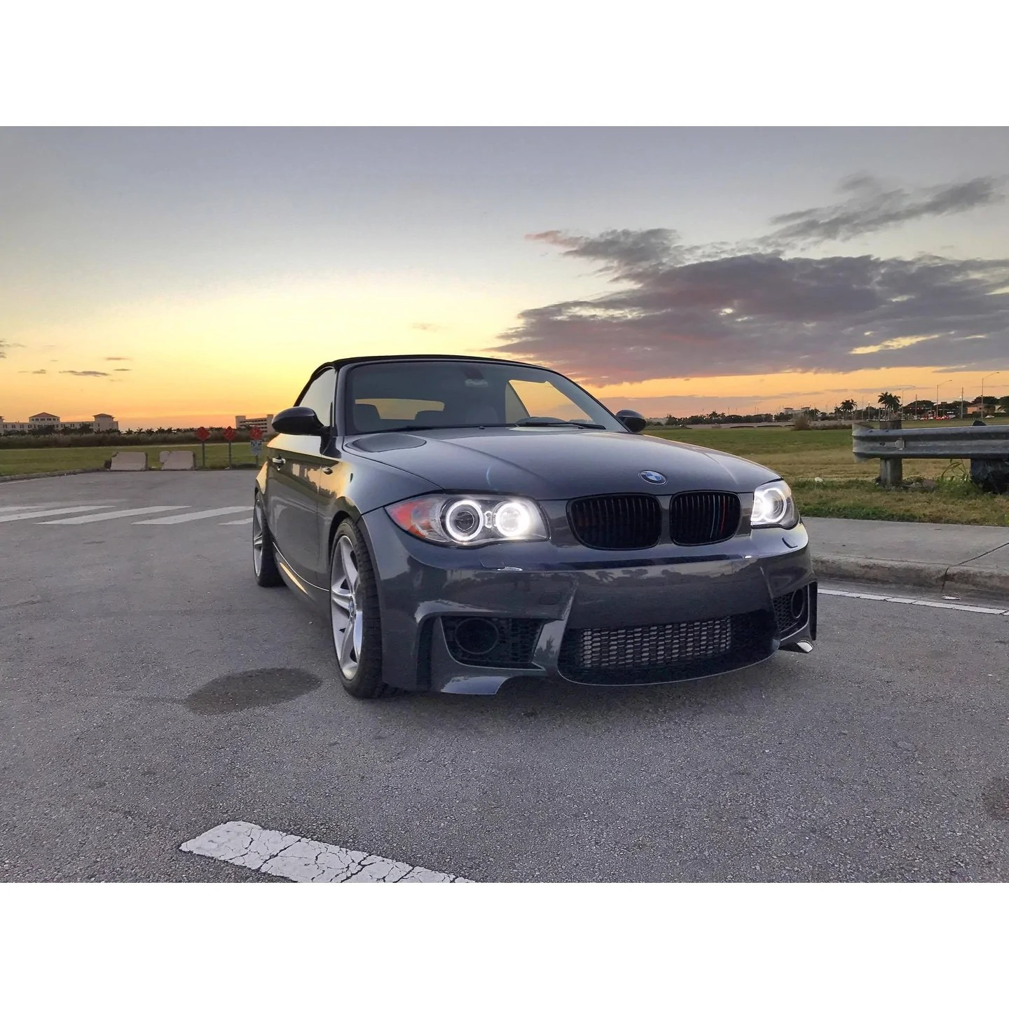 hight resolution of bmw e82 1m style front bumper aeuroplug