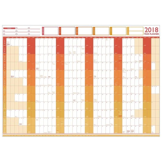 Wall planner large year chart and holiday also rh geopacks