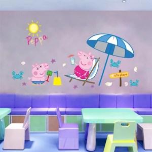 pig peppa wall stickers thetreasurethrift