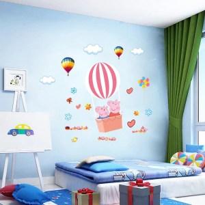 Room Background Room Peppa Pig House Wallpaper 2