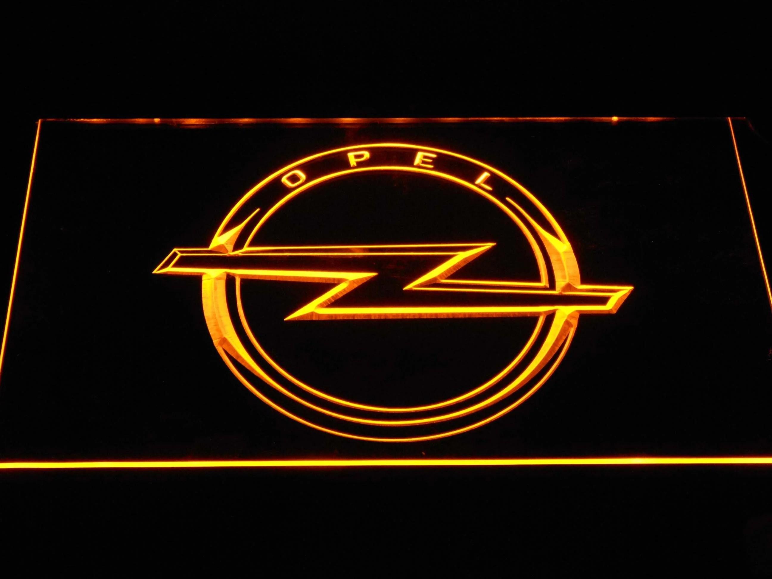 opel logo led neon sign [ 2592 x 1944 Pixel ]