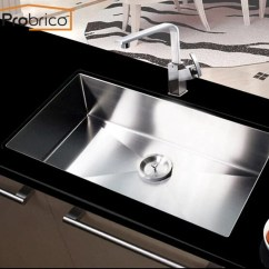 Buy Undermount Kitchen Sink Small Ceiling Ideas Probrico Stainless Steel Handmade Single Bowl 362 98 30x18x10 Kshm3018bs Usa Domestic Delivery