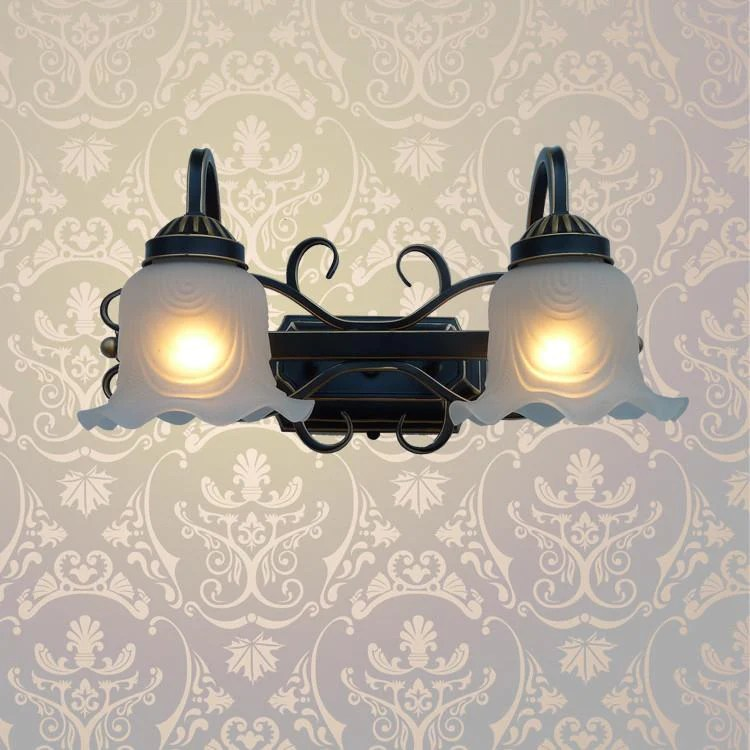 wall fixtures for living room furniture columbus ohio buy a1 european indoor iron lamp lamps lens headlight corridor 180 38 icon2