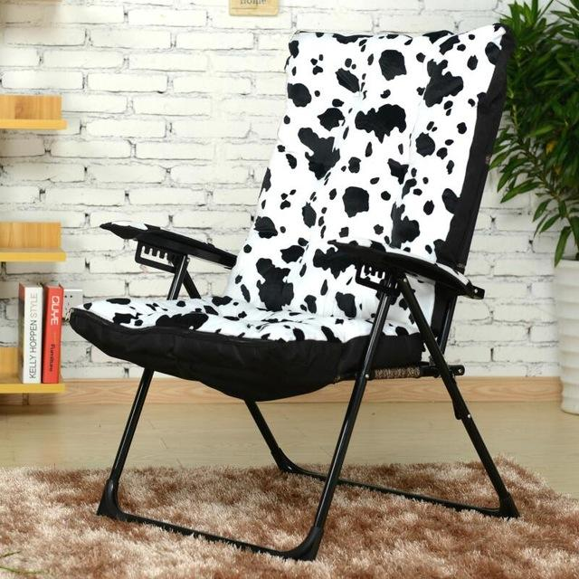 folding chair for living room design types buy fashion leisure w adjustable lazy computer 455 59 balcony