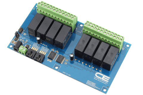 dpdt relay wiring diagram intermediate switch uk 8 channel controller for i2c raspberry pi 2 board