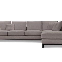 Grey Tweed Sectional Sofa Cheap Couches And Sofas Capsule Home 1011ftgryl Kellan Left Chaise In