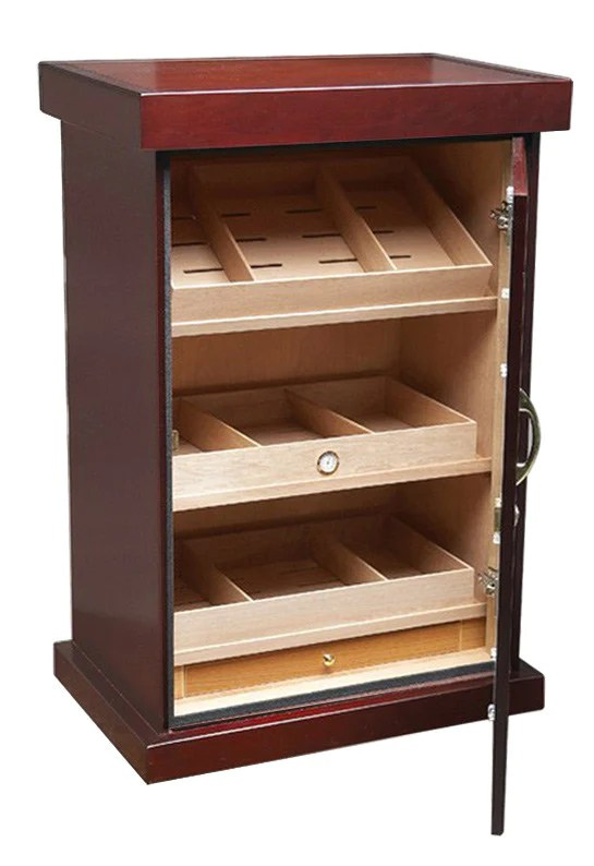 1000 Large Count Cigar Cabinet Humidor  Cigar Cabinet