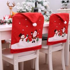 Chair Covers Diy Hammock Stand Craigslist 1 Pcs Home Decoration Santa Claus Christmas Cover New Year Cap