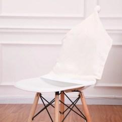 Christmas Folding Chair Covers Deluxe Massage 1 Pcs 50 60cm Deer Hat Decor Dinner Elk Back Cover