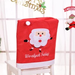 Christmas Elf Chair Covers Herman Miller Chairs Ebay 1 Pcs 50 45cm Decorations Santa Claus Back Dinner Xmas Gift