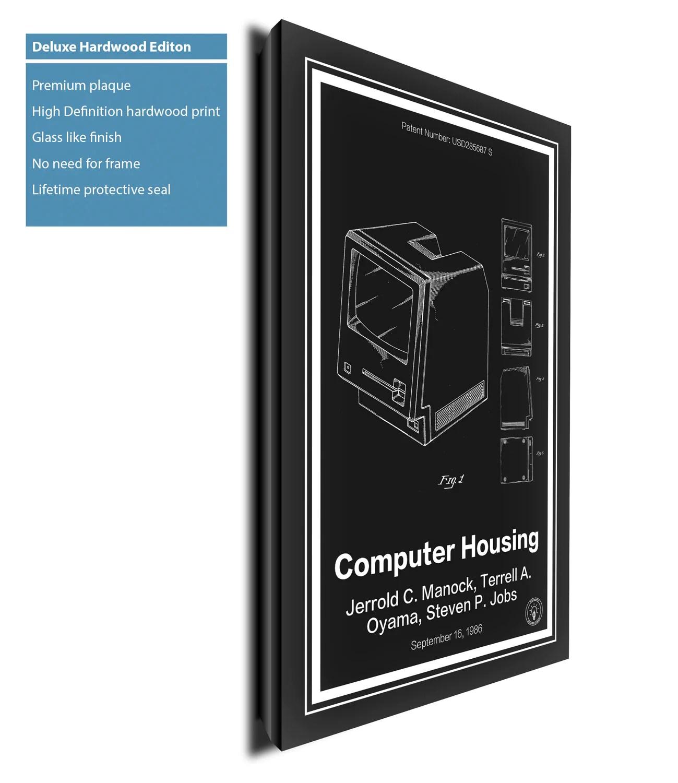 Mac Computer Patent Print Retro Patents