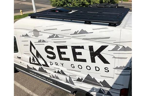 Ford Transit Van Conversion Roof Rack