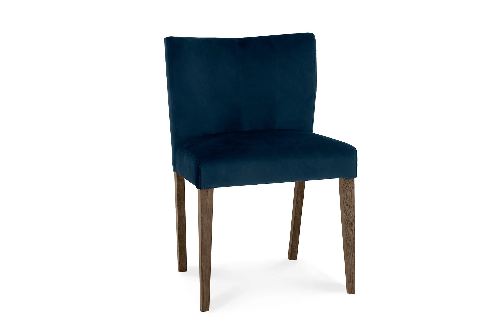 hight resolution of luna navy dining chair