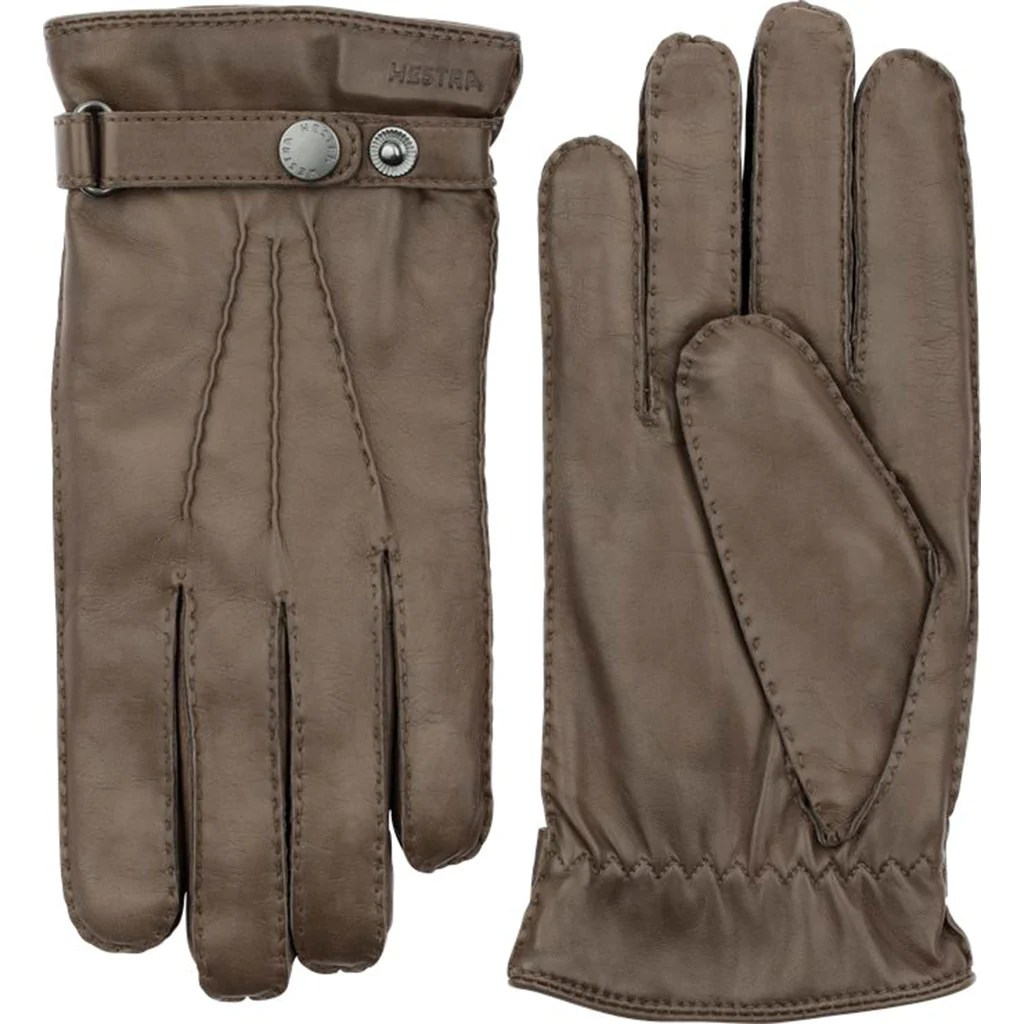 hestra leather gloves clay