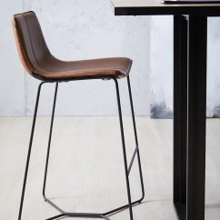 Saddle Office Chair West Elm High For 1 Year Old Slope Bar Stool – Workspace