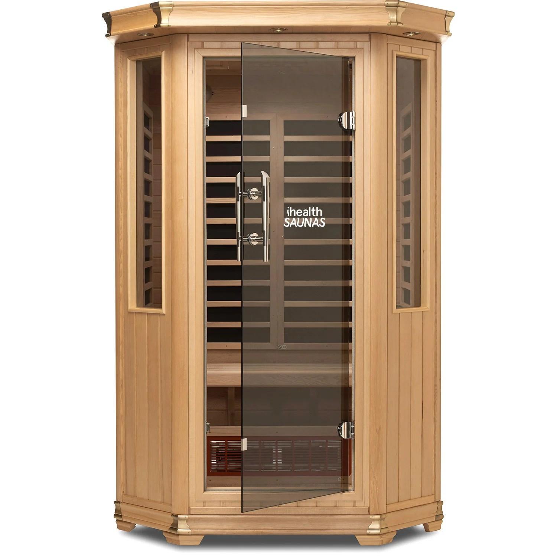 2 person premium far infrared sauna [ 1500 x 1500 Pixel ]