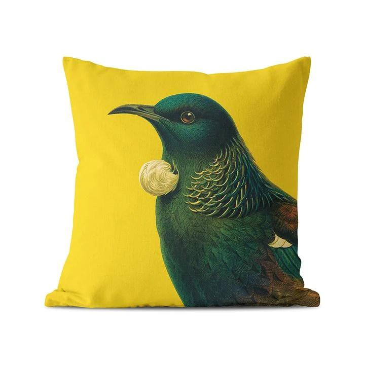 bright native bird cushion covers